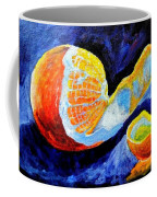 Half Peeled Orange Coffee Mug