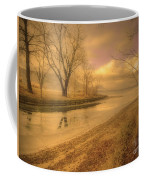 Half Reflections Coffee Mug