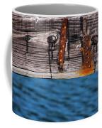 Half Wood Coffee Mug