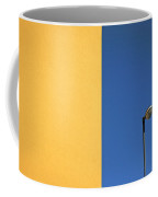 Half Yellow Half Blue Coffee Mug