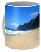 Hali Pale Beach  Kauai  Hawaii Coffee Mug