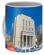 Hall Of Justice In Valparaiso-chile  Coffee Mug