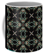 Hall Of Mirrors In Abstract Coffee Mug