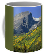 310221-v-hallet Peak In Autumn V  Coffee Mug