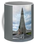 Hallgrimskirkja - The Largest Church In Iceland Coffee Mug