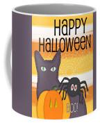 Halloween Friends- Art By Linda Woods Coffee Mug