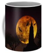 Halloween Moon Coffee Mug by Bill Cannon