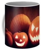 Halloween Pumpkins Glowing, Jack-o-lantern Coffee Mug