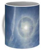 Halo Around Full Moon In A Sky Coffee Mug