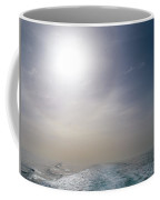 Halo Over Atlantic Ocean Coffee Mug