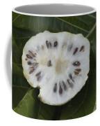 Halved Noni Fruit Coffee Mug