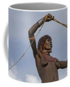 Hamer Tribe Woman, Ethiopia  Coffee Mug