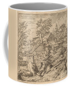 Hamlet On A Mountain Side Coffee Mug