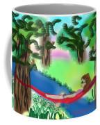 Hammock Under The Chihuahua Trees Coffee Mug by Teresa Epps