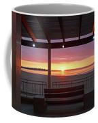 Hampton Beach Sunrise Hampton Beach State Park Hampton Nh Bench 2 Coffee Mug
