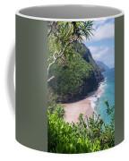 Hanakapiai Beach - Kalalau Trail - Kauai Hawaii Coffee Mug