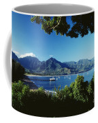 Hanalei Bay Boats Coffee Mug