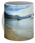 Hanalei Bay Outrigger Coffee Mug
