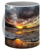 Hanalei Pier Reflections Coffee Mug