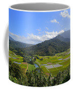 Hanalei River Overlook In Kauai Coffee Mug