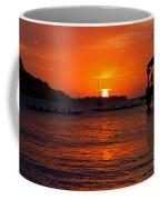 Hanalei Sunset Coffee Mug by Mike  Dawson