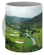 Hanalei Taro Fields Coffee Mug