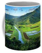 Hanalei Valley Coffee Mug by Inge Johnsson
