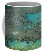 Hanauma Bay Reef And Snorkelers Coffee Mug