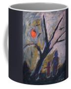 Hand In Hand Walk Under The Moon Coffee Mug