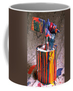 Hand Coming Out Of Paint Can Coffee Mug