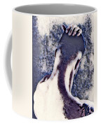 Hand On Head Coffee Mug
