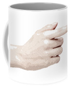 Hand - Parallel Hatching Coffee Mug