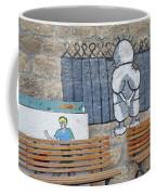 Handala And The Wall Coffee Mug