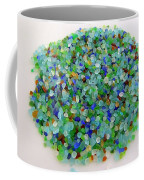 Handful Of Sea Glass Coffee Mug