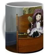 Handmade Cloth Doll Coffee Mug