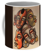 Handmade Sand Painting Coffee Mug