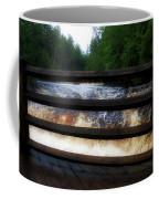 Handrails Tahquamenon Lower Falls Upper Peninsula Michigan 02 Coffee Mug