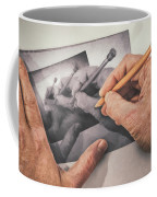 Hands Drawing Hands Coffee Mug