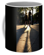 Hands In Sunset Coffee Mug