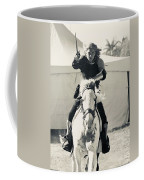 Handsome Knight Riding His Horse Coffee Mug