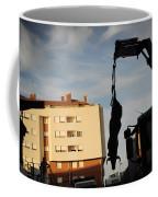Hanging Bull Coffee Mug
