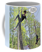 Hanging By A Thread Coffee Mug