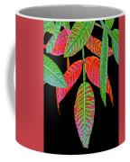 Hanging Green And Red Leafs... Coffee Mug
