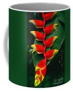 Hanging Heliconia Coffee Mug