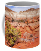 Hanging On The Cliff At Kodachrome Basin State Park Coffee Mug