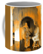 Hanging Out Travel Exotic Arches Orange Abstract Square India Rajasthan 1c Coffee Mug