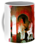 Hanging Out Travel Exotic Arches Red Abstract Square India Rajasthan 1e Coffee Mug