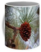 Hanging  Pine Cone Coffee Mug