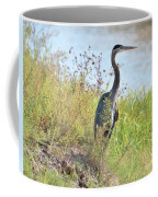 Hank The Blue Heron Coffee Mug