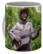 Hank Williams Statue - Cropped Coffee Mug